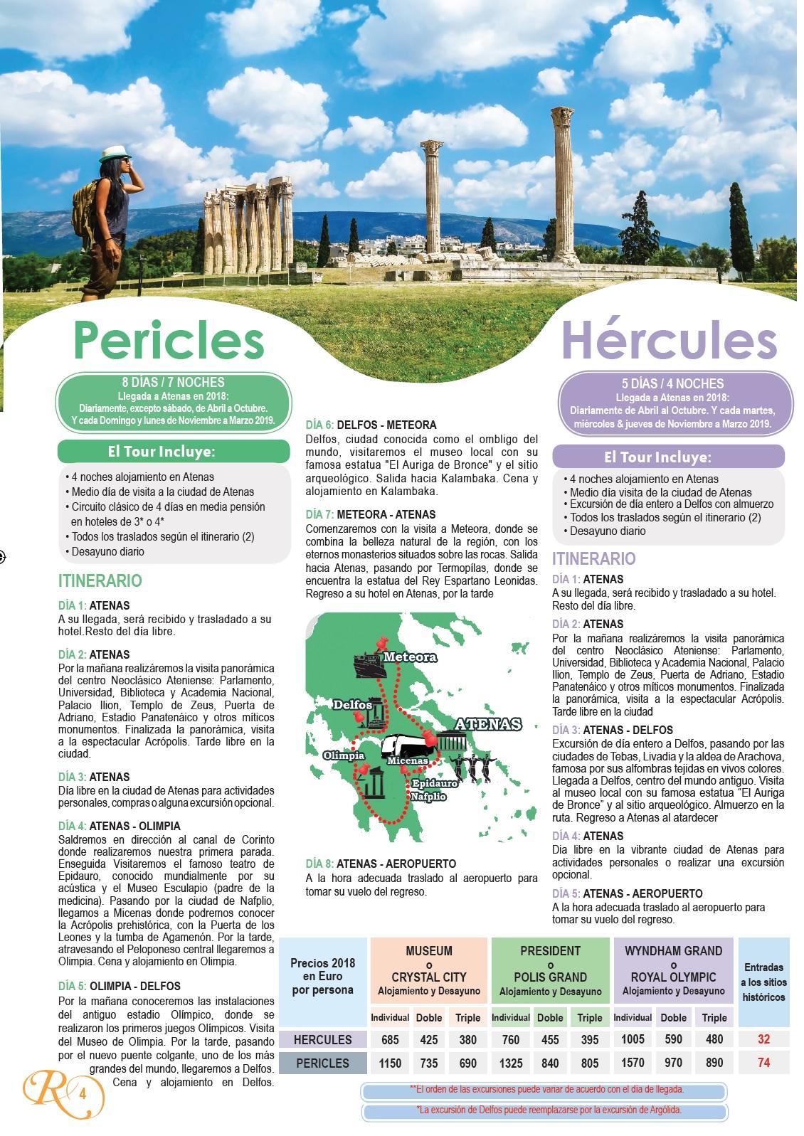 Circuito Grecia : Sactur viajes